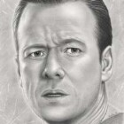 Art Drawing - Donnie Wahlberg Portrait - Horst Cali - Kill Point