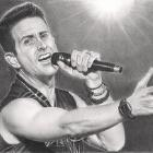 Art Drawing - Joey McIntyre Portrait - NKOTB