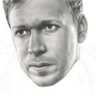 Art Drawing - Making of Donnie Wahlberg Portrait - C. Carwood Lipton - Band Of Brothers - Step 6