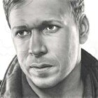 Art Drawing - Making of Donnie Wahlberg Portrait - C. Carwood Lipton - Band Of Brothers - Step 8