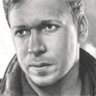 Art Drawing - Making of Donnie Wahlberg Portrait - C. Carwood Lipton - Band Of Brothers - Step 9